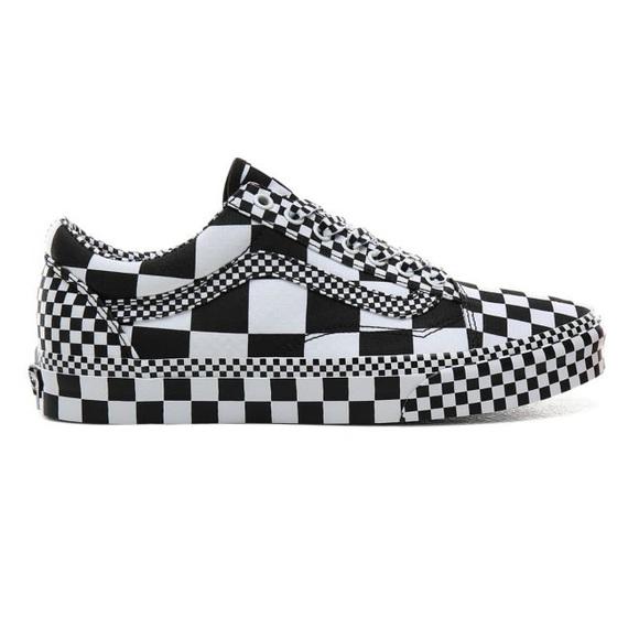Vans Old Skool All Over Checkerboard Sneakers